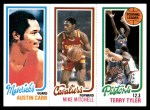 1980 Topps   -  Austin Carr / Mike Mitchell / Terry Tyler 61 / 56 / 81 Front Thumbnail