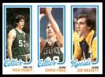 1980 Topps   -  Rick Robey / Chris Ford / Joe Hassett 40 / 37 / 66 Front Thumbnail