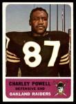 1962 Fleer #77  Charley Powell  Front Thumbnail