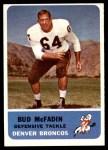 1962 Fleer #41  Bud McFadin  Front Thumbnail