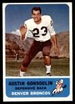 1962 Fleer #39  Goose Gonsoulin  Front Thumbnail
