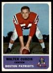 1962 Fleer #7  Walt Cudzik  Front Thumbnail