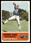 1962 Fleer #22  Warren Raab  Front Thumbnail