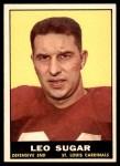 1961 Topps #119  Leo Sugar  Front Thumbnail