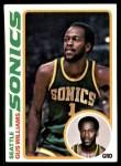 1978 Topps #39  Gus Williams  Front Thumbnail