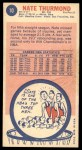 1969 Topps #10  Nate Thurmond  Back Thumbnail