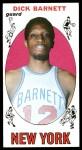 1969 Topps #18  Dick Barnett  Front Thumbnail