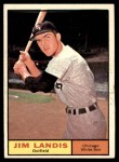 1961 Topps #271  Jim Landis  Front Thumbnail