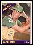 1966 Topps #366  Wayne Causey  Front Thumbnail