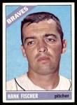 1966 Topps #381  Hank Fischer  Front Thumbnail