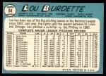 1965 Topps #64  Lew Burdette  Back Thumbnail