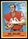 1967 Philadelphia #179  Ken Willard  Front Thumbnail