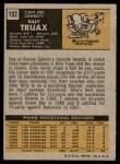 1971 Topps #152  Billy Truax  Back Thumbnail
