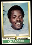 1974 Topps #390  Deacon  Jones  Front Thumbnail