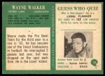 1966 Philadelphia #76  Wayne Walker  Back Thumbnail