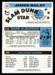 1980 Topps   -  Allan Bristow / Mark Olberding / James Bailey 236 / 210 / 255 Back Thumbnail