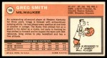 1970 Topps #166  Greg Smith   Back Thumbnail