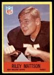 1967 Philadelphia #127  Riley Mattson  Front Thumbnail