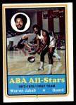 1973 Topps #220  Warren Jabali  Front Thumbnail