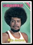 1975 Topps #236  Mike Jackson  Front Thumbnail