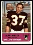 1962 Fleer #67  Alan Miller  Front Thumbnail