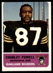 1962 Fleer #77  Charley Powell  Front Thumbnail