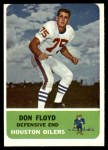 1962 Fleer #54  Don Floyd  Front Thumbnail