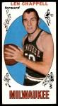 1969 Topps #68  Len Chappell  Front Thumbnail