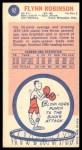 1969 Topps #92  Flynn Robinson  Back Thumbnail