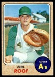 1968 Topps #484  Phil Roof  Front Thumbnail