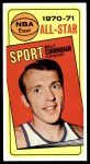 1970 Topps #108   -  Billy Cunningham  All-Star Front Thumbnail