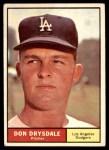 1961 Topps #260  Don Drysdale  Front Thumbnail