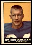 1961 Topps #5  Jim Mutscheller  Front Thumbnail