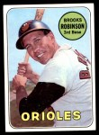 1969 Topps #550  Brooks Robinson  Front Thumbnail