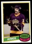 1980 Topps #240  Charlie Simmer  Front Thumbnail