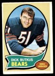 1970 Topps #190  Dick Butkus  Front Thumbnail