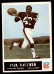 1965 Philadelphia #41  Paul Warfield  Front Thumbnail