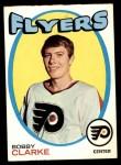 1971 Topps #114  Bobby Clarke  Front Thumbnail