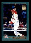 2001 Topps #50  Mark McGwire  Front Thumbnail