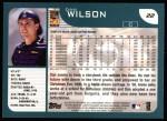 2001 Topps #22  Dan Wilson  Back Thumbnail