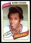 1980 Topps #410  Bobby Bonds  Front Thumbnail