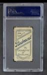 1909 T206  Rudy Hulswitt  Back Thumbnail