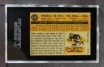 1960 Topps #526  Paul Giel  Back Thumbnail