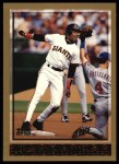1998 Topps #317  Barry Bonds  Front Thumbnail