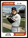 1974 Topps #128  John Ellis  Front Thumbnail