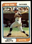 1974 Topps #311  Jerry Grote  Front Thumbnail