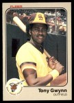 1983 Fleer #360  Tony Gwynn  Front Thumbnail