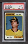 1974 Topps #387 WAS Rich Morales  Front Thumbnail