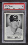 1960 Leaf #115  Chuck Tanner  Front Thumbnail