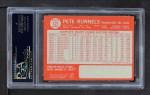 1964 Topps #121 xSPT Pete Runnels  Back Thumbnail